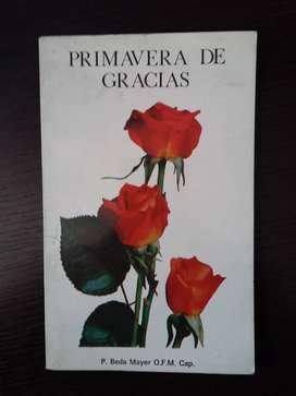 Libro Primavera de Gracias