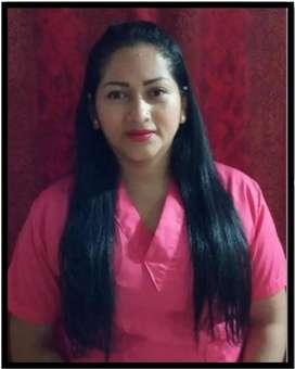 Busco trabajo como auxiliar de enfermería