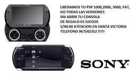 Liberamos PSP FAT, SLIM O GO