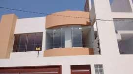 Casa con 2 departamentos-Proyección 5 pisos