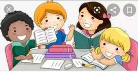 Refuerzos escolares y acompañamiento de tareas