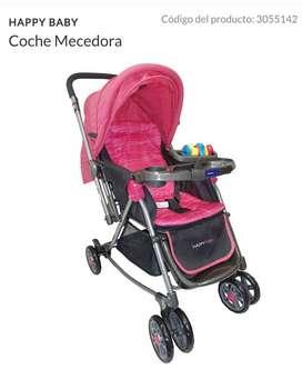 COCHE MECEDORA para bebe niña marca happy baby