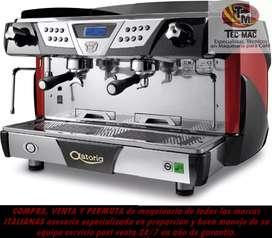 Mantenimiento reparación máquinas café capuchineras