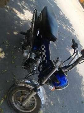 Vendo moto marca Wanxin 110