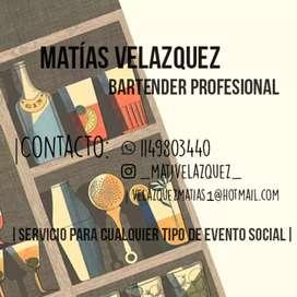 Servicio de Barman/Bartender para todo tipo de Evento