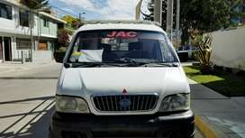 Camionera pick UP marca jac, modelo HTC 1023