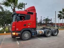 TRACTO SCANIA 6X4 P420 AÑO 2013