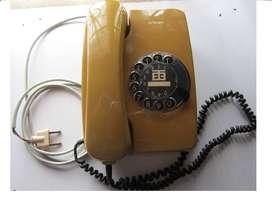 FANTANSTICO EVOCADOR TELEFONO DE DISCO de 1.988 VINTAGE  Conocedores, Coleccionistas...Decoración, Ambientación, otros