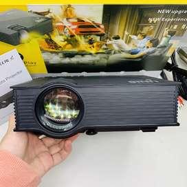 PROYECTOR LED HD 1080p HDMI USB SD WI-FI 1200 LUMEN