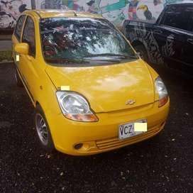 Taxi recién reparado y pintado, con papeles al día hasta mayo del 2021, incluye aire acondicionado