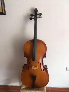 Vendo Cello, arco, estuche delgado, colofina
