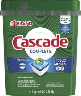 Detergente Para Lavavajillas Cascade Acción Completa