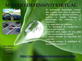 CURSO MANEJO DEFENSIVO PARA CONDUCTORES