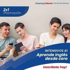 2X1 Curso Inglés A1 PROMO
