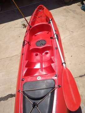 Kayak Sitontop Sunrider equipado Pesca y Recreación