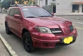 Mitsubishi Outlander 2004 4x4 Precio de oporrunidad!!