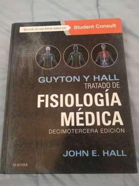 Vendo libro de FISIOLOGÍA MÉDICA