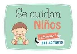 Servicio de Niñera .. Se cuidan niños