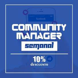 COMMUNITY MANAGER Plan Semanal