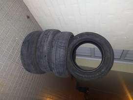 Cubiertas auto número 185/65/r/R14.