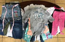 Lote de ropa de niña 0 a 3 años