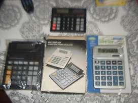 Lote De Tres Calculadoras A Revisar No Envio