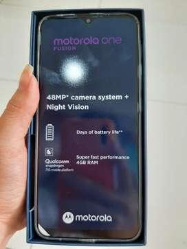 Motorola One Fusion cámara 48 MP Night visión 64GB