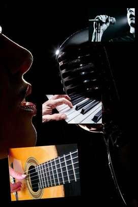 Clases Particulares de Piano, Guitarra y Canto.