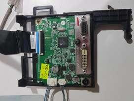 Placa main fuente monitor Lg 22mp55d funcionando ok