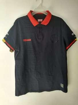 Camisa de presentación deportivo pasto talla L