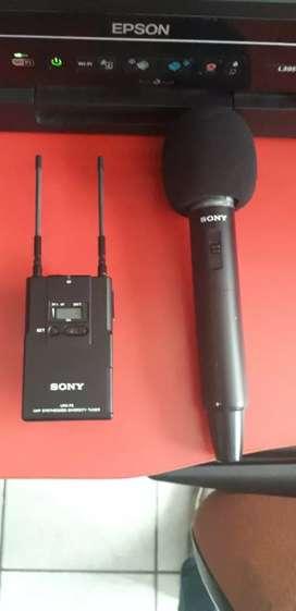 Microfono inalambrico Sony muy poco uso