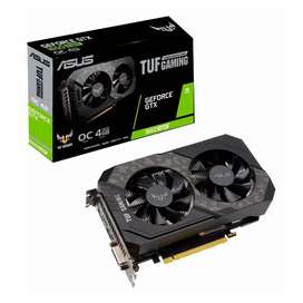 Placa de video 1650 super Asus tuf gaming 4gb oc