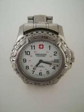 Reloj hombre swiss military. Original usado