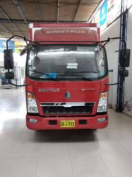 Camion de 4 Tn SINOTRUK precio al contado y financiado.