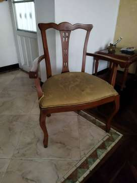 silla tallada