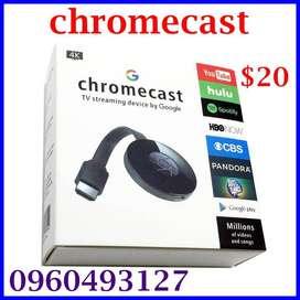ChromeCast 4K  a  $20