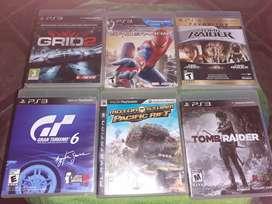 Vendo juegos  de ps3 y ps4 en buen estado