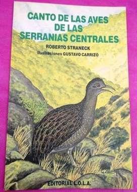 CANTO DE LAS AVES DE LAS SERRANÍAS CENTRALES