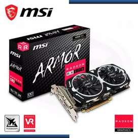 RX 570 MSI RADEON ARMOR RX 570  GDDR5