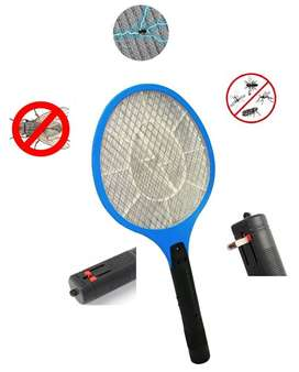 Raqueta Electrica Mata Moscas Zancudos Insectos Recargable