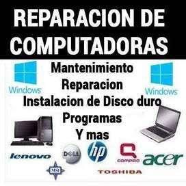Servicio tecnico de computadores y portatiles