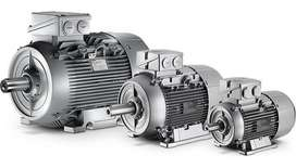 Motor SIEMENS IP55, 4-polos, 1500 rpm, IMB3, FS=1.1, 1.1kW / 1.5CV, tamaño 90