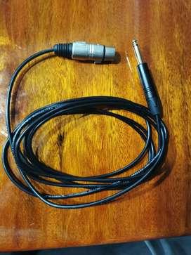 Cable xlr proel
