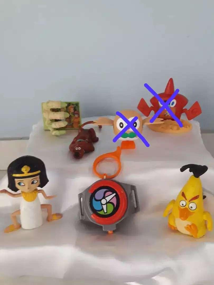 Muñecos Hungry Bgird, Scooby