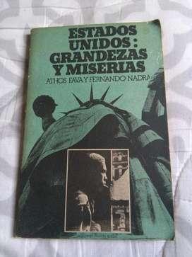Estados Unidos Grandezas Y Miserias Athos Fava y Nadra PC de Argentina