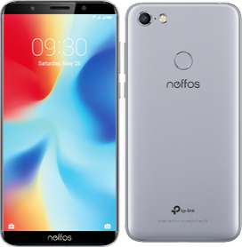 Celular Neffos C9a 5.45'' Desbloqueo Facial, Huella