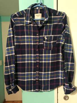Camisa Abercrombie Talle Large Perfecto