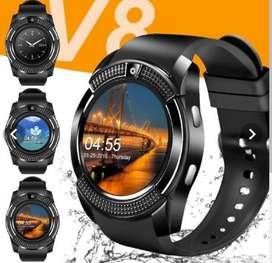 Reloj Llamadas Notificaciones Táctil V8