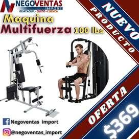 MAQUINA MULTIFUERZA DE 100LBS EN OFERTA ÚNICA DE NEGOVENTAS