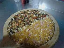 Busco empleo como pizzero o ayudante de cocina  preparador de comidas rapidas